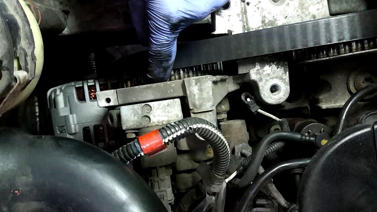 Opel Vivaro 19 Dci Timing Belt Youtube