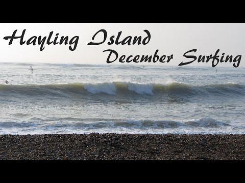 Hayling Island, December SUP Surf 2016 (Big Friday)