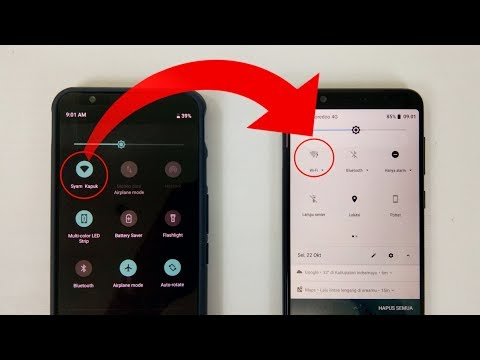 cara terhubung ke wifi dengan kode QR-tanpa password.