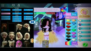 MAKING MY NEW YEARS OUTFIT FOR THE NEW YEAR NEW ME STYLE! | Royale High | Roblox