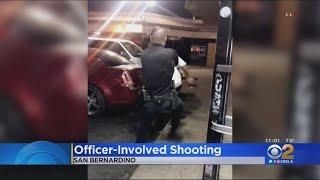 Armed Man Shot, Killed By Police Officer Outside San Bernardino Liquor Store