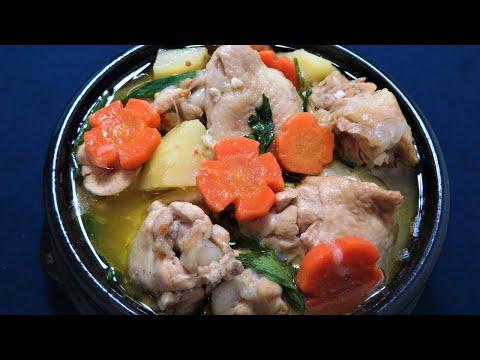 Resep sup ayam yang enak banget   Cara membuat sop ayam   How to make Indonesian chicken soup