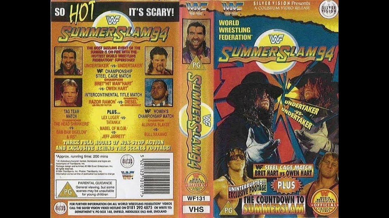 Wwe Wwf Summerslam 1994 Pregled tako vroče strašljivo-6100