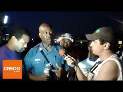 #FergusonLive: Cpt. Ron Johnson