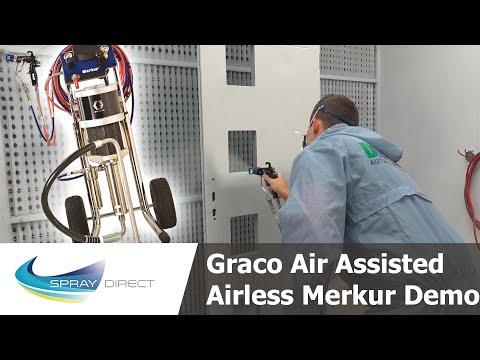 Graco Air Assisted Airless Merkur Demo - Theory, Setup & Spraying