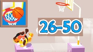 Perfect Dunk 3D Game Walkthrough Level 26 - 50
