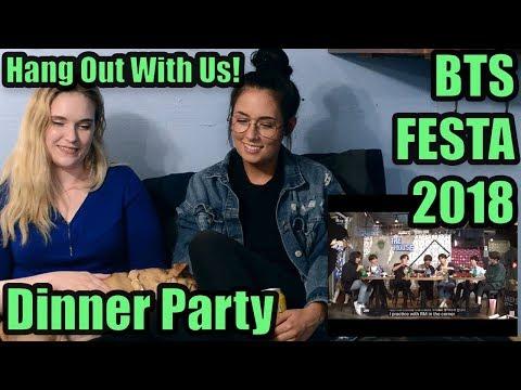 BTS FESTA 2018 Dinner Party Reaction