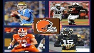 2018 NFL Mock Draft! 3 Full Rounds!! 2017 Video