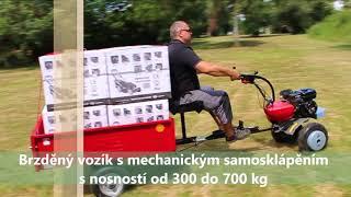 PUBERT VARIO - Multifunkční Stroj, Vozíková Sestava