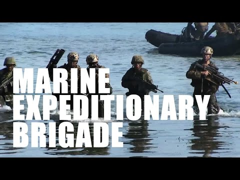 Marine Expeditionary Brigade: Partnered, Capable, Ready.