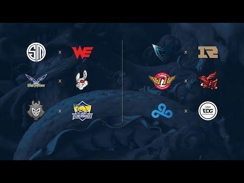 Campeonato Mundial de League of Legends 2017 - Fase de Grupos - Día 3