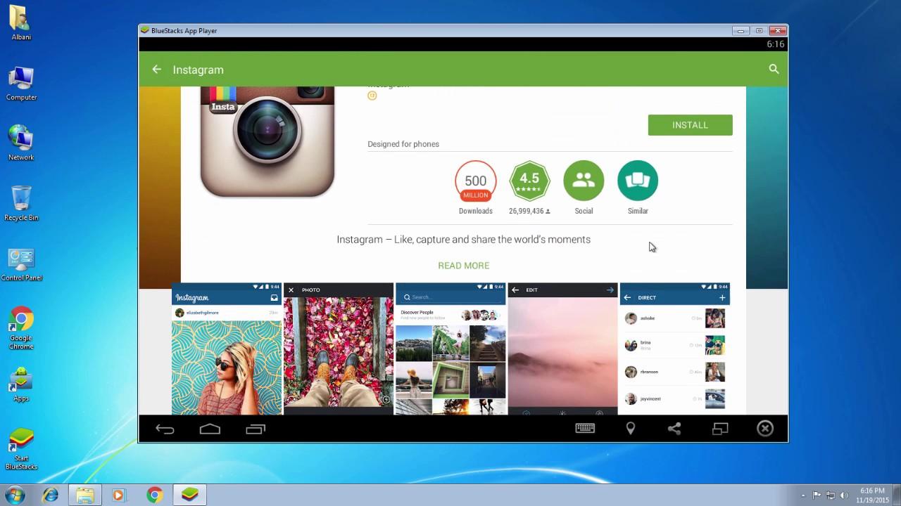 instagram for pc free download windows 7 64 bit