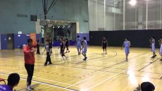 2015-2016 B Grade 陳震夏 vs 沙田學院