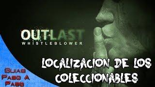 Video de Outlast: Whistleblower   Localización de todos los coleccionables / All collectibles locations