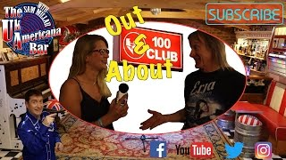 The UK Americana Bar Out And About The 100 Club In London S Oxford Street