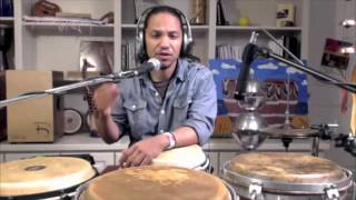 Percussion Instruction; Contemp Gospel Pt. 1