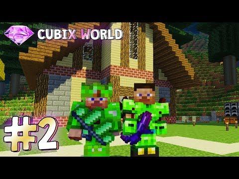 ИГРАЕМ НА МАЙНКРАФТ СЕРВЕРЕ С МОДАМИ MagicRPG#2 ПОСТРОИЛИ КРАСИВЫЙ ДОМ! (Minecraft Server)