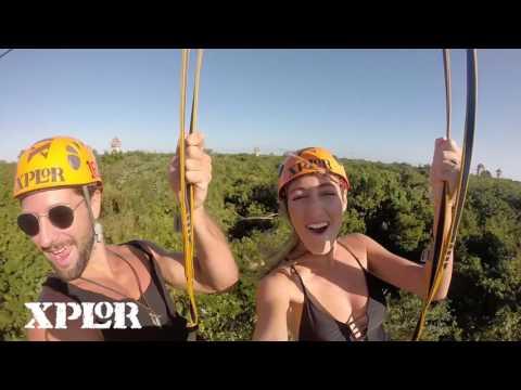 ¡VIVE LA TIROLESA MÁS ALTA DE CANCÚN! | Xplor Park: Aventura en Cancún, México