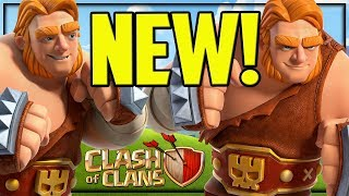 NEW Troop - AMAZING Hair - Clash of Clans Super Giants!