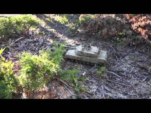 M1A2 ABRAMS TANK RC 1/24 VS PRO