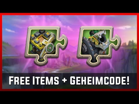 Free Items + Geheimcode! | Castle Clash