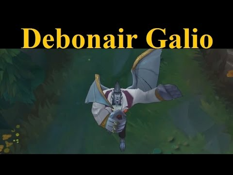 Debonair Galio Skin + Balance Changes - Galio's righteous new skin and buffs will blow you away