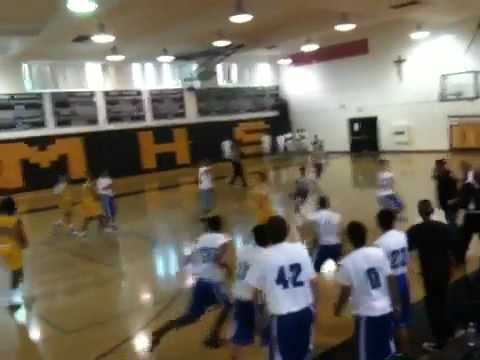 Arman hits the game winning three for Culver City High School!