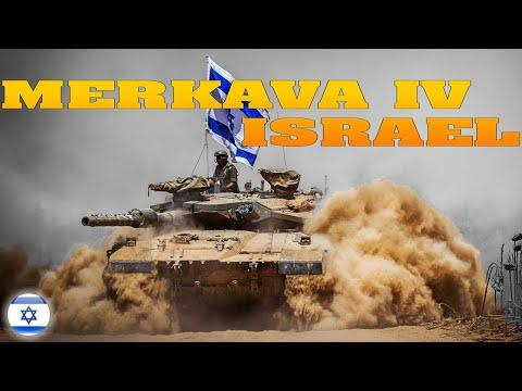 Conozcamos Al Tanque Merkava IV De Israel