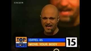 "Top of the Pops - Eiffel 65 ""Move your body"""