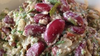 Lobio - Georgian Kidney Bean Salad