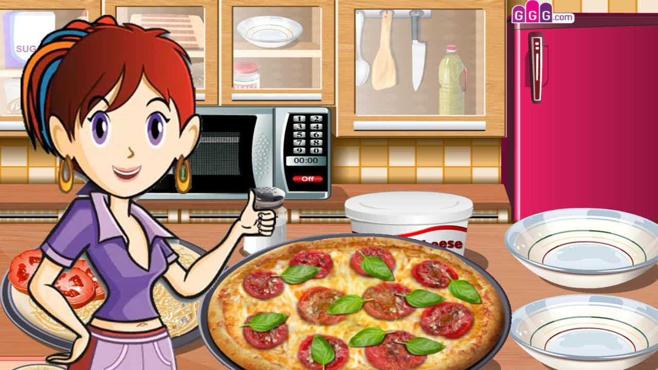 Sara S Cooking Class Pizza Tricolore Youtube