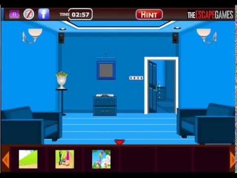 Royal Blue Room Escape Walkthrough Youtube
