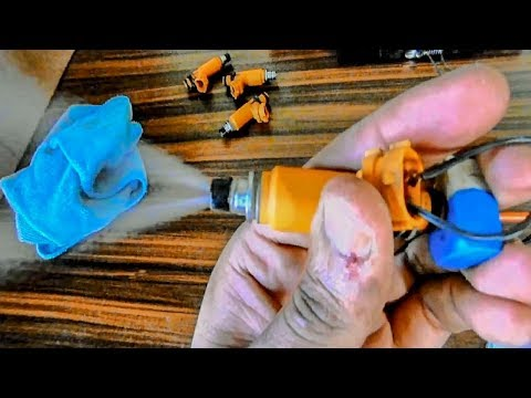 Clean Your Vehicle Fuel Injectors Under 4 Minutes at home without any special tools..!!
