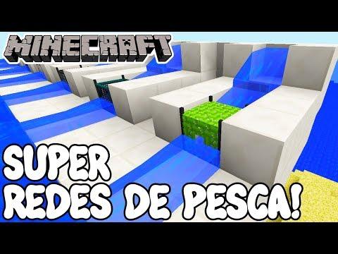 Minecraft 1.12 MOD SUPER REDES DE PESCA! Water Strainer Mod Español!
