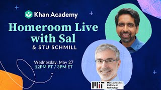 MIT Dean of Admissions, Stu Schill, says the perfect applicant doesn't exist | Homeroom with Sal