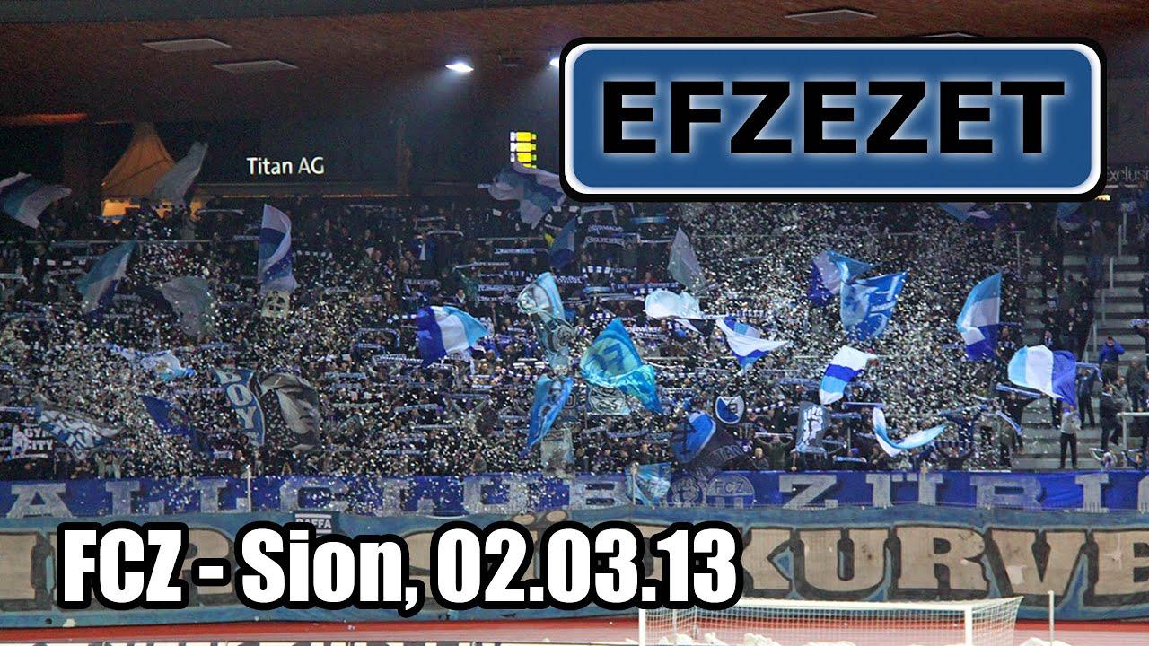 FCZ - Sion, Südkurve - YouTube