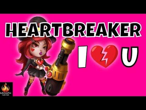 Heartbreaker LOST BATTLEFIELD Castle Clash Best Heroes