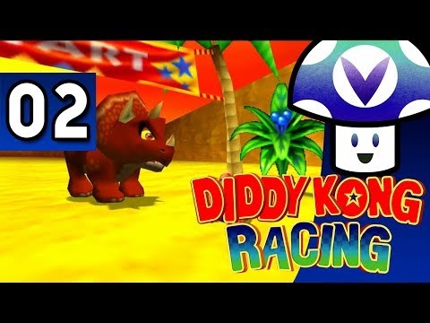 [Vinesauce] Vinny - Diddy Kong Racing (part 2) + Art!