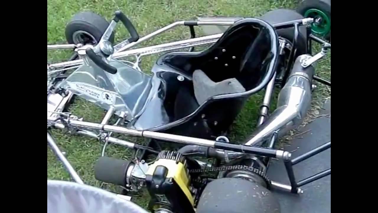 vintage kart blackhawk sidewinder with mcculloch mc91 engine youtube. Black Bedroom Furniture Sets. Home Design Ideas