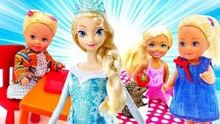 Эльза и Штеффи все серии. Мультики для девочек - Играем в куклы