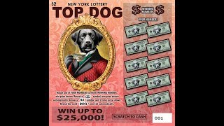 $2 - TOP DOG - WIN! - Lottery Bengal Scratch Off instant tickets CATS RULE, DOGS DROOL! WIN!!