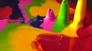 Melting Crayola Crayons | Filmed With A Macro Lens
