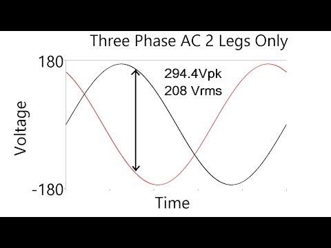 120V from both 240V single phase and 208V 3 phase systems?