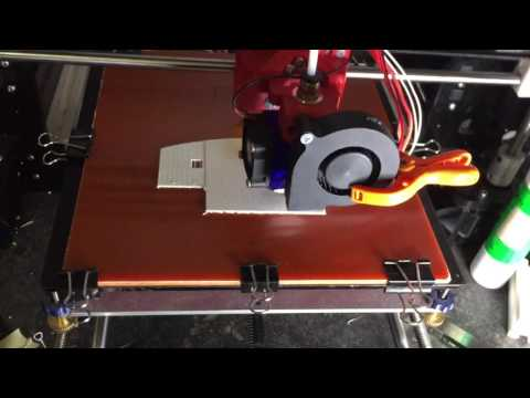 Start 3D print on Bakelite Phenolic Flat Plate Sheet.