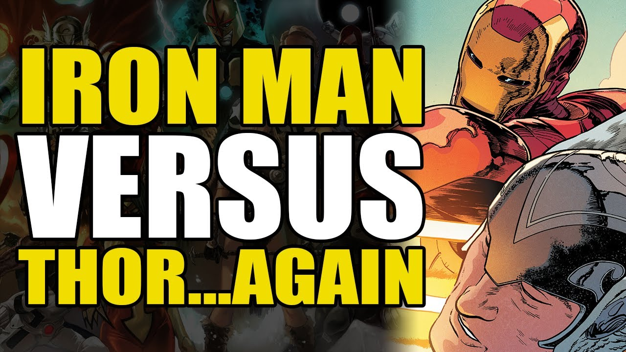 Iron Man vs Thor...Again: Thor Vol 2 Hammerdown | Comics Explained