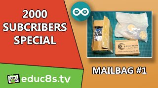2000 Subscribers Special Mailbag #1 GPS Shield Motor Shield Robot DIY MINI MP3
