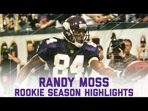 Randy Moss' FULL Rookie Season Highlights | #CountdownToKickoff | NFL Highlights
