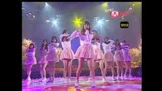 [080327] SNSD - Baby Baby + 7989 , M! Countdown