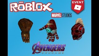 *NEW EVENT* ? Avengers End Game!?! (Filtering) Free Prizes! at Roblox - NC