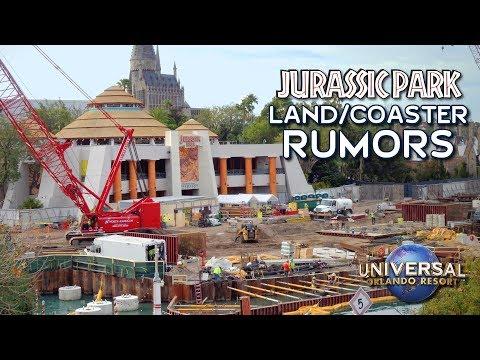 Will Jurassic Park Change To Jurassic World At Universal Orlando? - Jurassic Coaster Update